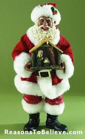 133 best african american black santas and ornaments images on
