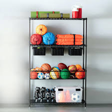 Garage Wall Shelves by Intermetro Garage Solution With Drawers Wire Rack Shelving Ikea