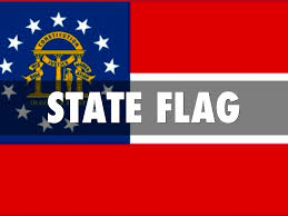 State Flag Georgia Georgia By A P