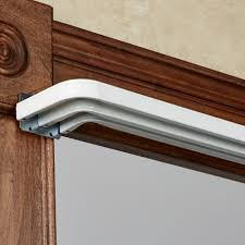 Magnetic Curtain Brackets by Curtain Types Of Curtain Rods For Your Inspirations U2014 Threestems Com