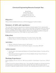 resume exles for engineers chemical engineering resume chemical engineer resume sle exle