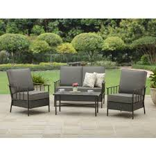 Garden And Home Decor by Better Homes And Gardens Fairwater 4 Piece Conversation Set