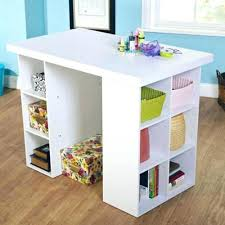 counter height craft table counter height craft table white craft table 4 adjustable shelves