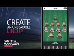 Fantasy Football Bench Players Fantasy Manager Football 2017 Top Football Manager Android Apps