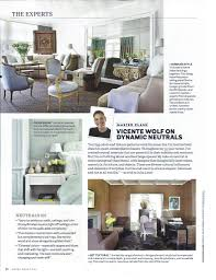 house beautiful magazine dynamic neutrals with house beautiful magazine vicente wolf