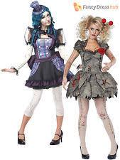 Voodoo Doll Costume Halloween Horror Doll Costume Ebay