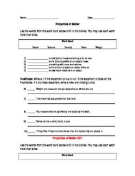 study jams properties of matter worksheet by crazy4teaching tpt