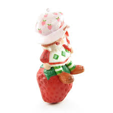 strawberry shortcake ornament vintage tree decoration