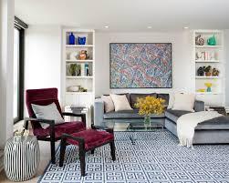 green blue chair on wooden floor modern formal living room stone