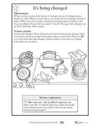 5th grade science worksheets the many phases of the moon the