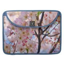 cherry blossom tree macbook air pro sleeves zazzle
