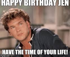 Meme Generator Upload Own Image - patrick swayze meme generator imgflip birthday memes pinterest