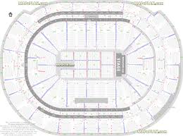 bb u0026t center detailed seat u0026 row numbers end stage concert