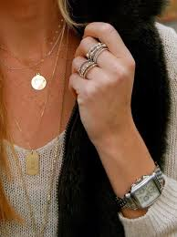layered rings necklace images Eye candy layering jewelry work that skirt a blog from the jpg
