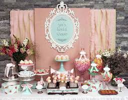 country bridal shower ideas shabby chic spring floral