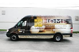 home interior renovation mercedes benz sprinter van vehicle wrap