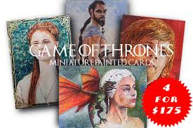 painted cards for sale studio paintings for sale