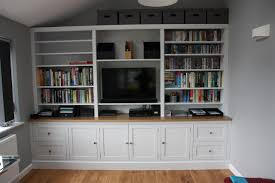 Bookcase by Tv And Family Room