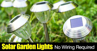 Solar Lights For The Garden What Are The Best Solar Garden Lights With Motion Detection