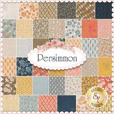 persimmon by basicgrey for moda fabrics 100 cotton this charm