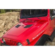 jeep cj hood rugged ridge 17759 09 performance hood vents black 07 16 jeep