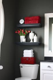 Bathroom Necessities Over The Toilet Storage Ideas For Extra Space