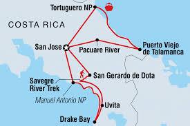 San Jose Costa Rica Map by Raft Snorkel Kayak U0026 Hike In Costa Rica Costa Rica Tours