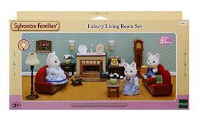 Sylvanian Families Luxury Living Room Set Amazoncouk Toys  Games - Sylvanian families living room set