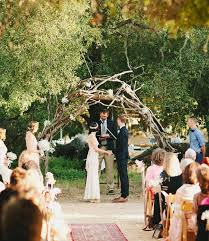wedding arches branches beautiful ceremony decor inspiration aisle arches chic vintage