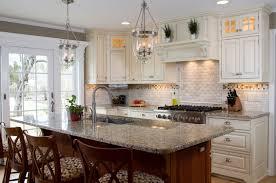 kitchen nice backsplash tile model closed black gas stove beside