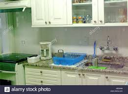 sweet home house home kitchen cabinets sink stove exhauster coffe