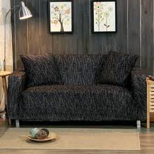 Black Sofa Slipcover Popular Black Sofa Cover Buy Cheap Black Sofa Cover Lots From
