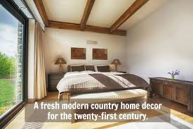 Modern Country Home Decor Get That Grounded Feeling
