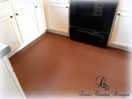 yes you can paint an laminate floor s creative designs