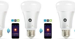 smart light bulbs amazon amazon wifi smart led light bulb only 14 02 shipped works with