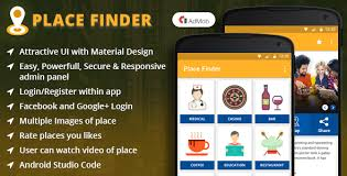 free finder app place finder android app 49scripts php scripts apps
