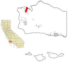 santa barbara california map santa california