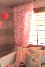 Ruffled Pink Curtains Pink Curtains For Nursery Awesome Get Cheap Pink Ruffle