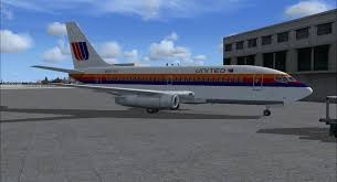 United Airlines Excess Baggage United Airlines 737 200 Fsx United Airlines Boeing 737 200