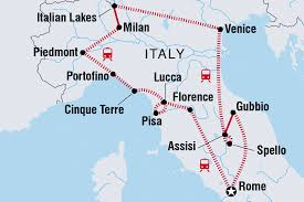 Italy On The World Map by Italy Tours U0026 Travel Intrepid Travel Us