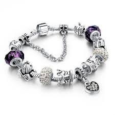 crystal heart charm bracelet images Pandora crystal heart charm bracelet jpg