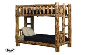 Elise Bunk Bed Manufacturer Amish Adirondack Real Wood Beds Headboards New York