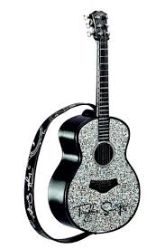 guitar live musical heirloom ornament