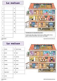 vocabulaire de la chambre une fiche pour découvrir et retenir le vocabulaire de la maison