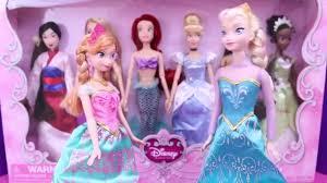 frozen dolls elsa anna dress party disney princess