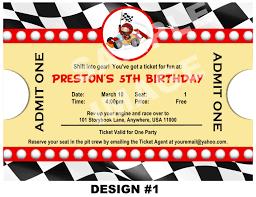 40th Birthday Invitation Cards Race Car Birthday Invitations Plumegiant Com