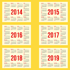 5 year calendar printable calendar template 2017