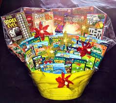 raffle baskets lottery ticket basket raffle basket ideas lottery