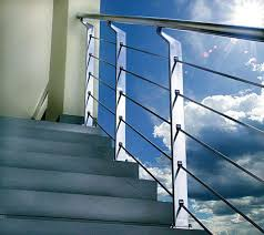 Outdoor Banisters And Railings Modern Handrails Adding Contemporary Style To Your Home U0027s Staircase