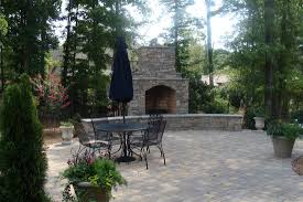 Small Paver Patio by Charlotte Waxhaw Weddington Custom Outdoor Living Areas And